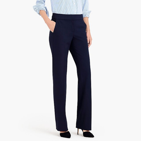 J. Crew Pants - NEW J. Crew Perfect Work Pant Stretch Trouser